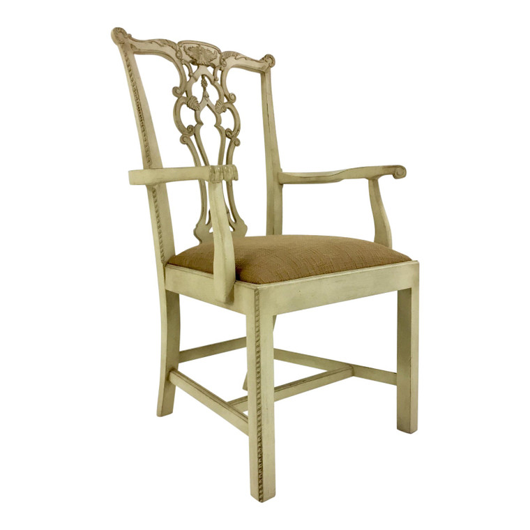 Hickory Chair Rhode Island Chippendale Arm Chair
