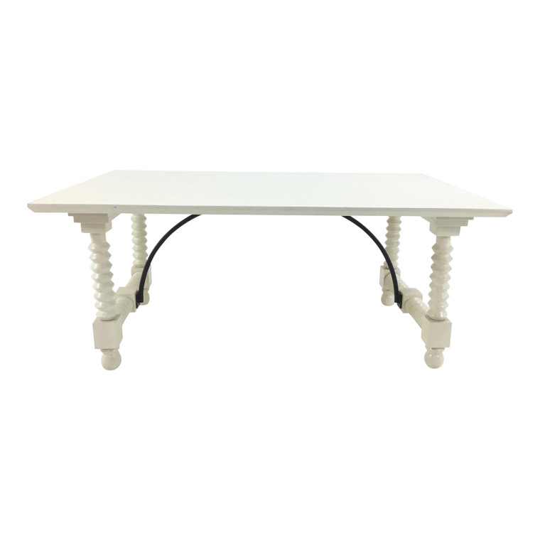 Off-White Cottage Coffee Table