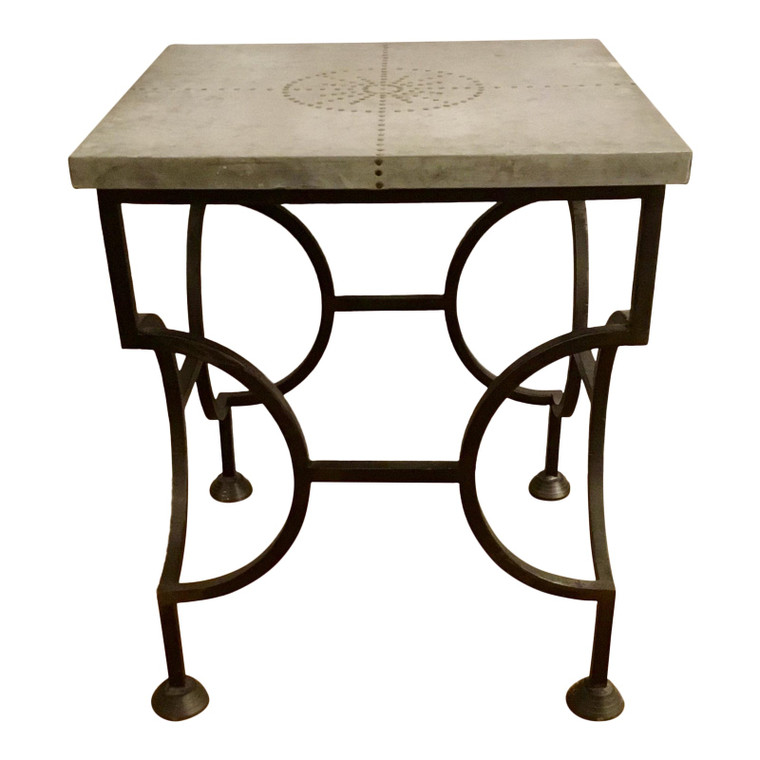 Modern Arteriors Iron Accent Table