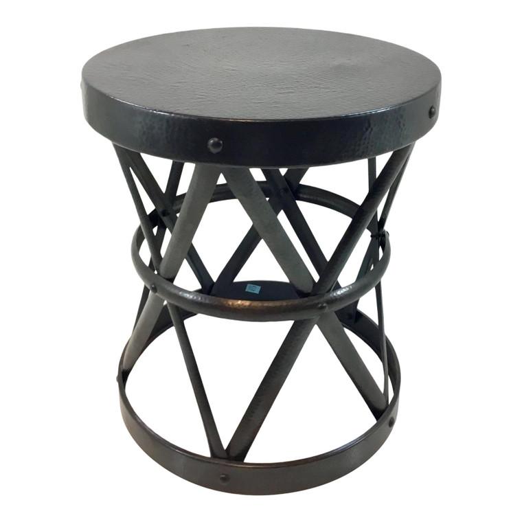 Arteriors Dark Bronze Costello SIde Table
