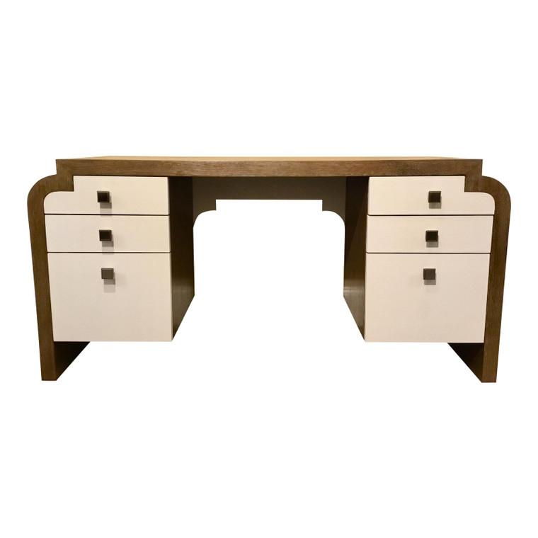 Modern Thomasville Wood Writing Desk