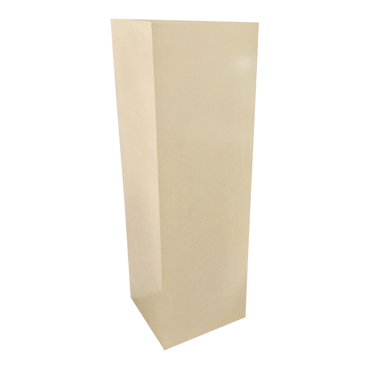 Mark SIkes for Henredon Contemporary White Lacquered Pedestal
