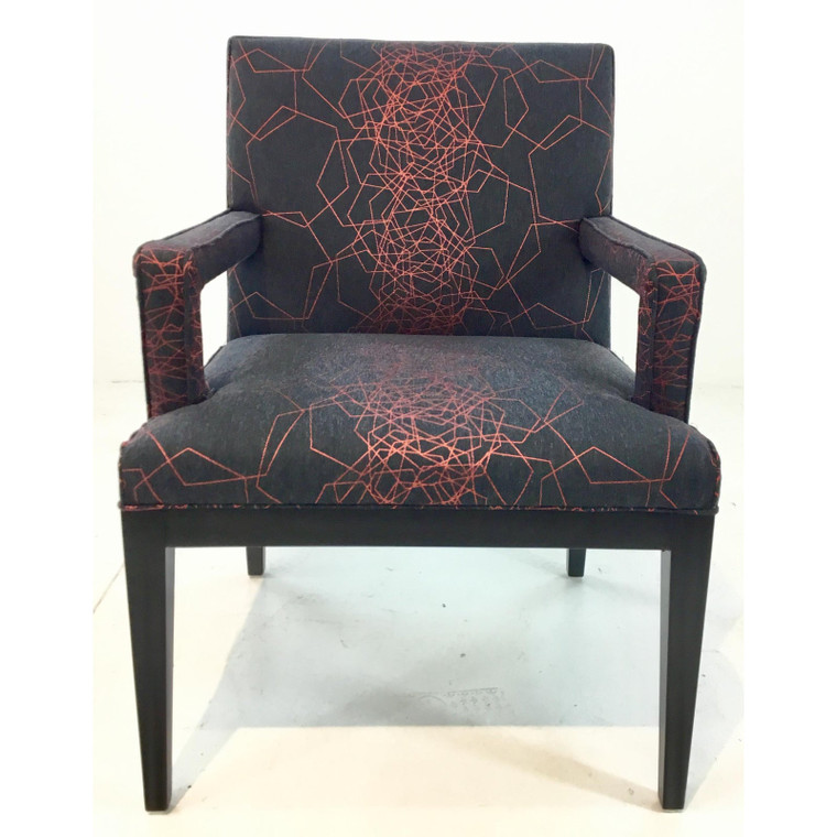 Drexel Heritage Modern Cody Arm Chairs Pair