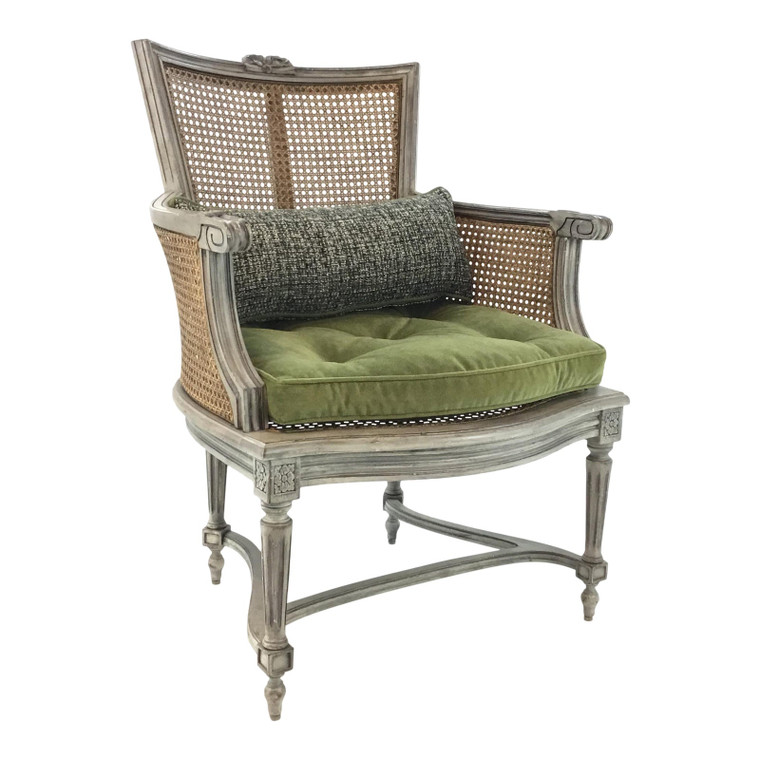 Transitional Hickory Chair Caned Kensington Chair