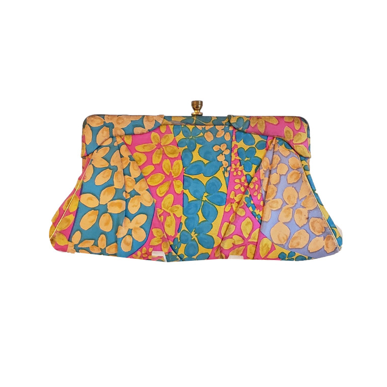 Be Bright! Colorful Fabric Clutch