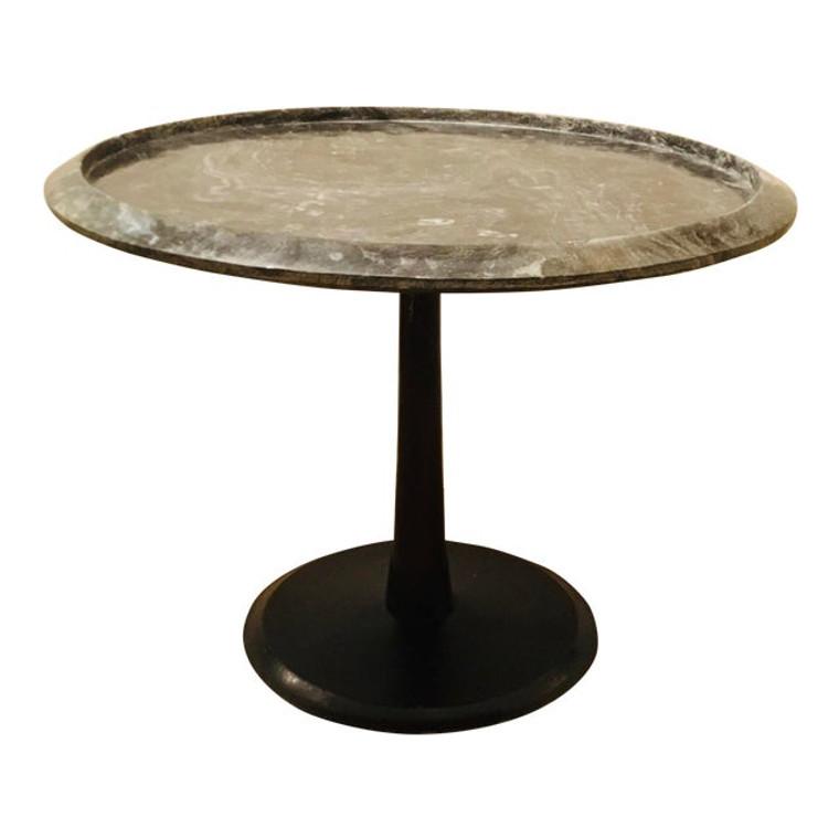 Arteriors Modern Marble Webber Accent Table