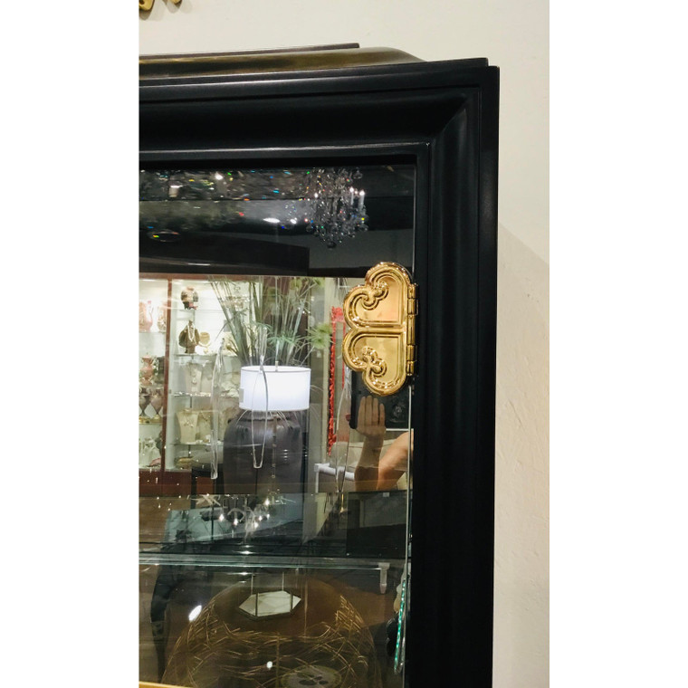 Caracole Signature Classically Modern Connoisseurs Display Cabinet