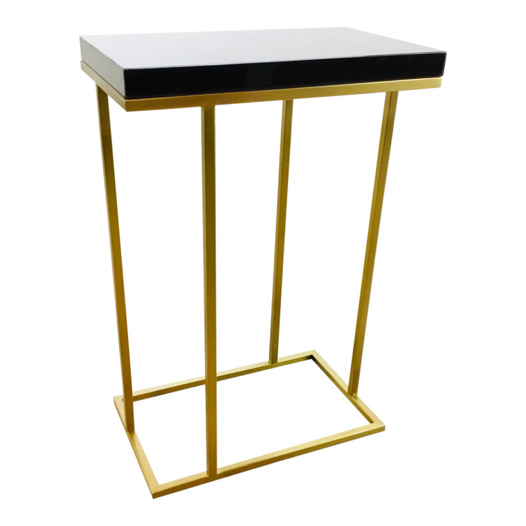 Interlude Home Modern Elijah Rectangular Side Table