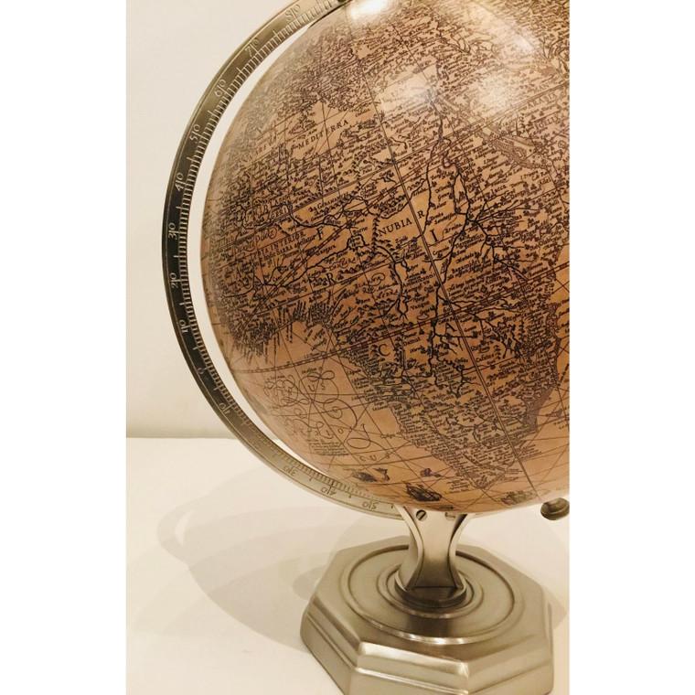 Vintage Style Aged Ivory Globe