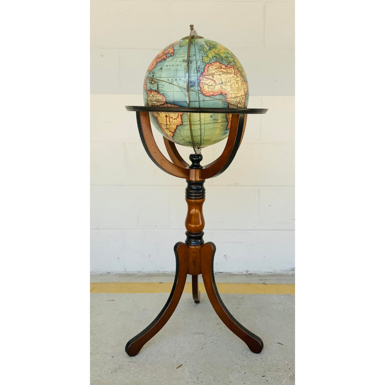 Library Globe on Stand