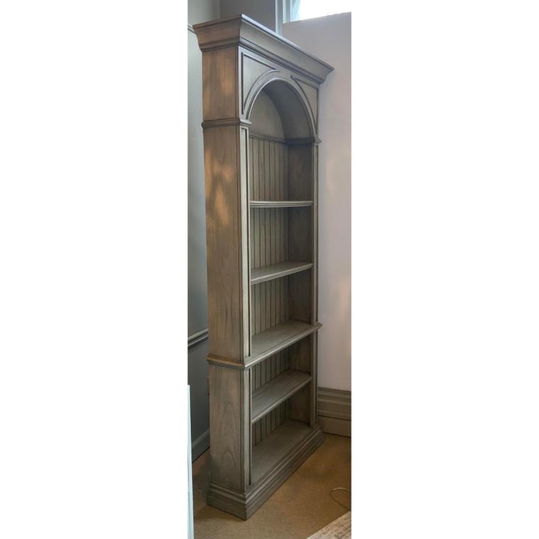 Ambella Home Modern Gray Wood Agatha Bookcase