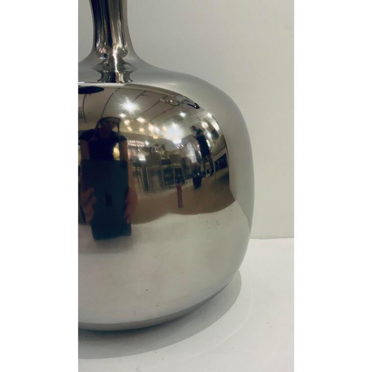 Arteriors Modern Polished Nickel Elsa Vase