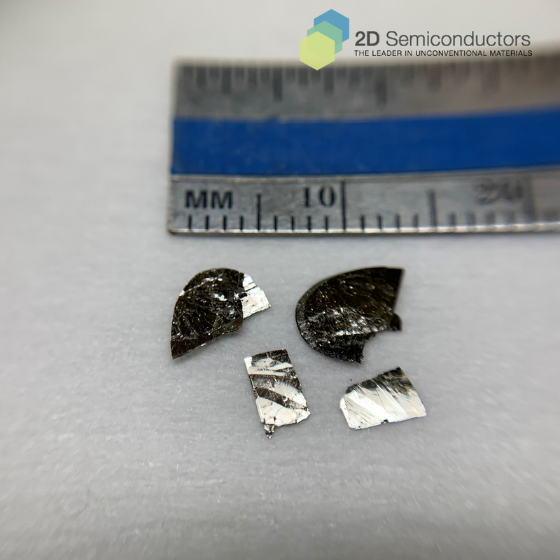 High quality FeTe crystal - 2D vdW superconductor - 2Dsemiconductors USA