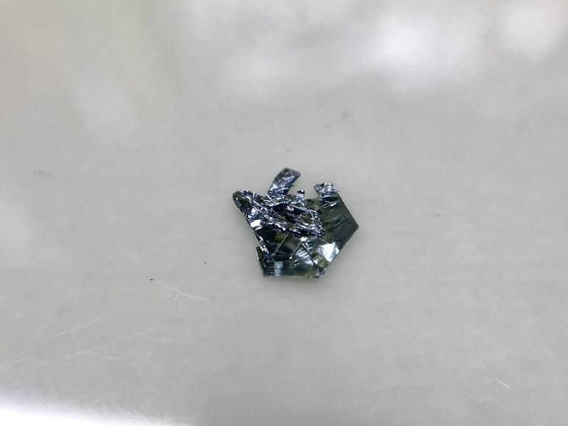 n-type WS2 crystals
