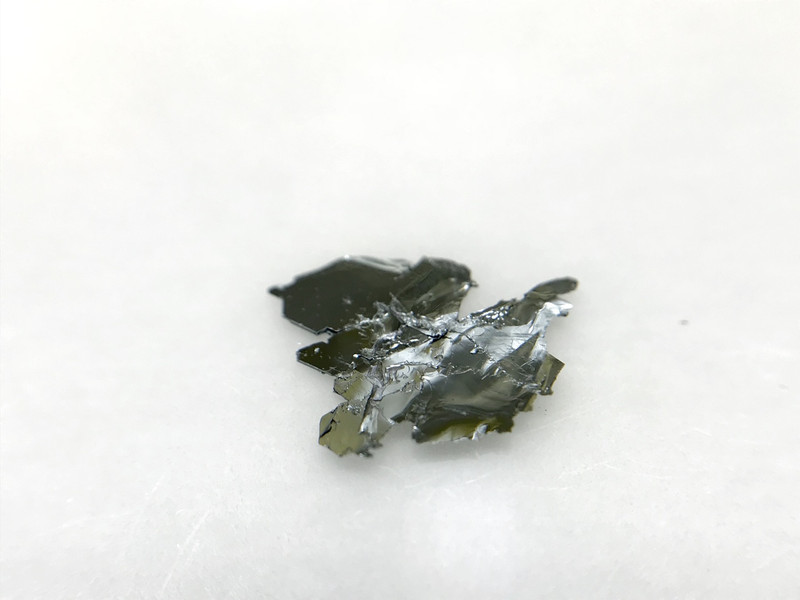 p-type MoSe2 crystals