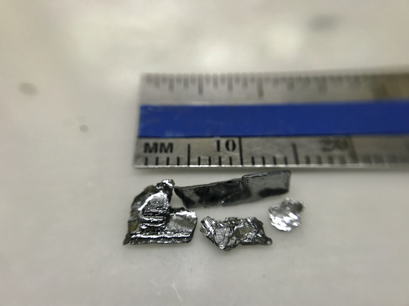 1 cm size high quality SnSe tin selenide crystals by 2Dsemiconductors USA