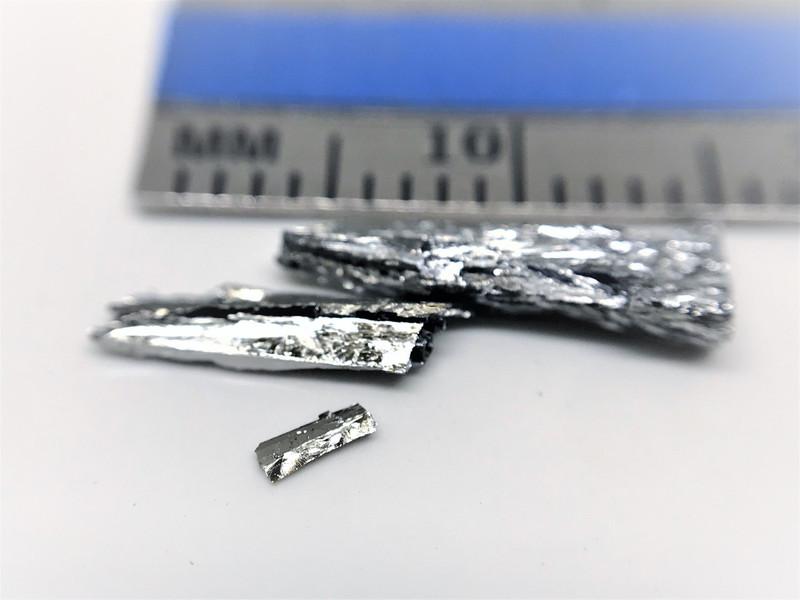 1 cm size tellurium / telluride crystals