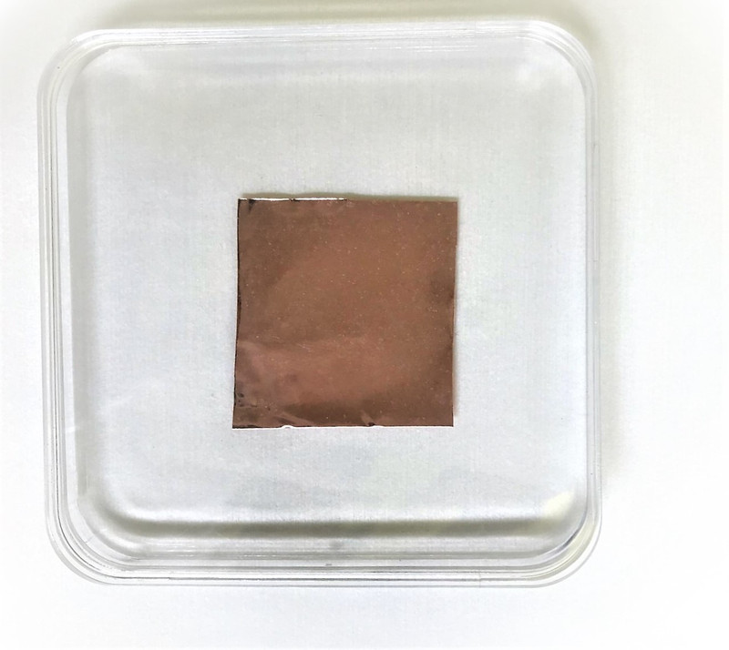 CVD h-BN - 2x2 inches large area high quality CVD multilayer hexagonal BN sheets - 2Dsemiconductors
