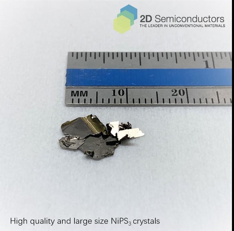 NiPS3 crystals