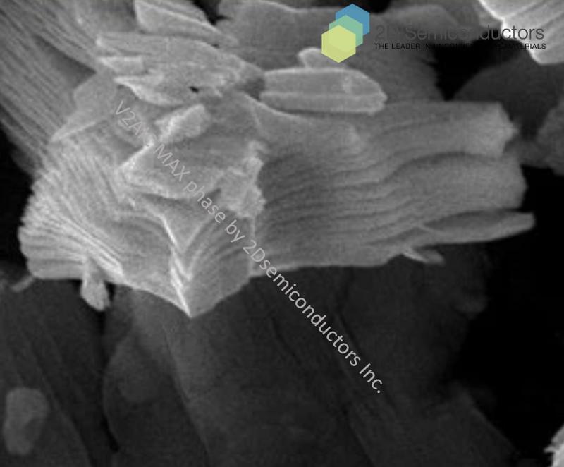 V2AlC SEM images