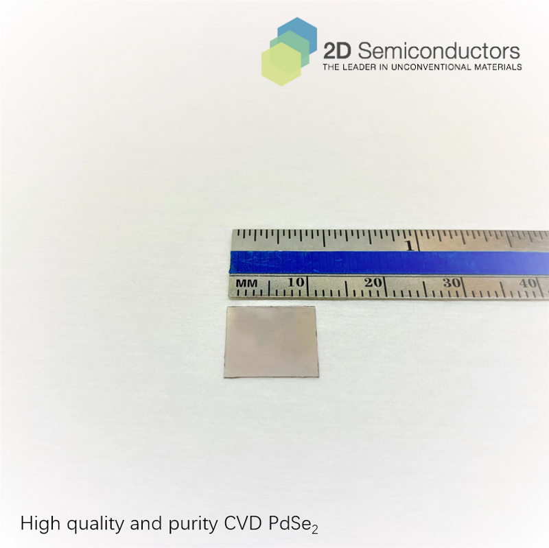CVD PdSe2 by 2Dsemiconductors Inc.