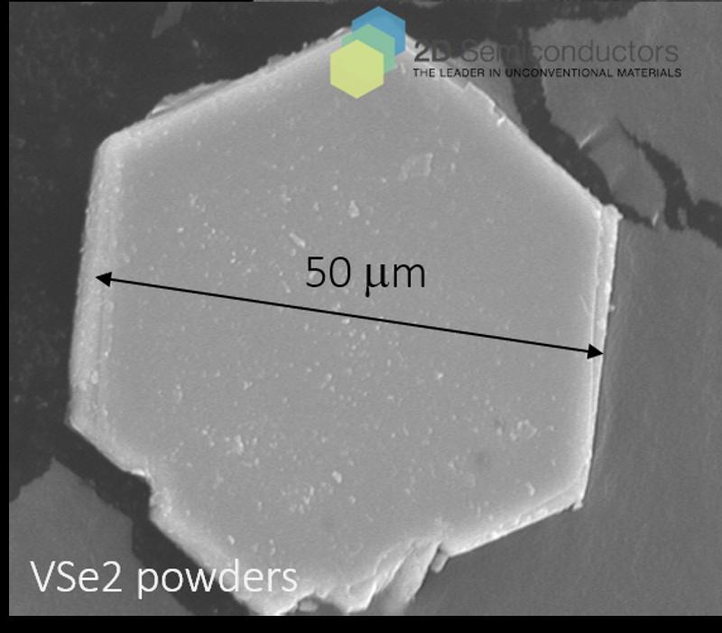 VSe2 vdW powder