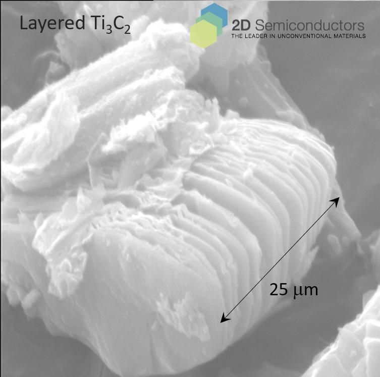 Ti3C2 MXene SEM images