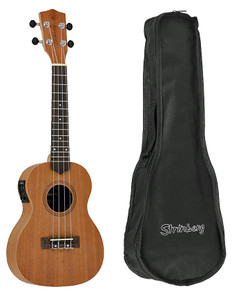 "23"" Ukulele with Preamp & Tuner  UK-06CE"