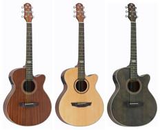 Auditorium Acoustic Guitar w/ Preamp+Tuner  SA-200C