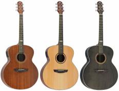 Jumbo Acoustic Guitar w/ Preamp+Tuner  SJ-200