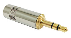 3.5mm Stereo Gold Plug  PL-231