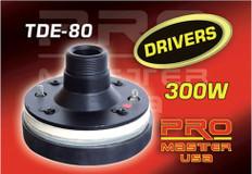 "TWEETER DRIVER, 1.5"" Voice Coil  TDE-80"