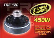 "TWEETER DRIVER, 1.5"" Voice Coil  TDE-120"