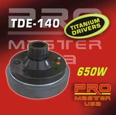 "TWEETER DRIVER, 2"" Voice Coil  TDE-140"
