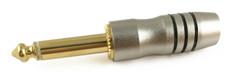 "1/4"" Mono Medium Gold Plug  PL-850B"