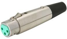 XLR 3-pin Jack  JA3F