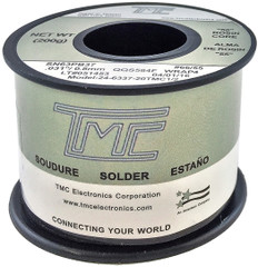 "200g. Solder Wire, 63/37, 0.8mm/0.031""  24-6337-20TMC1/2"