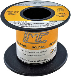 "50g. Solder Wire, 60/40, 0.8mm/0.031""  24-6040-31TMC1/8"