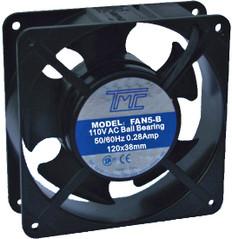 """4.7"""" Ball-bearing Fan 110VAC  FAN-5B"""