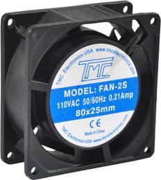 """3.15"""" Slim Fan 110VAC  FAN-2S"""