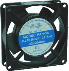 """3.6"""" Slim Fan 110VAC  FAN-3S"""