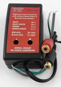 Hi-to-Low Converter + Noise Filter  NF-30