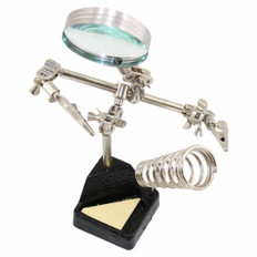Helping Hand+Magnifier+Stand  608-LUPASTAND