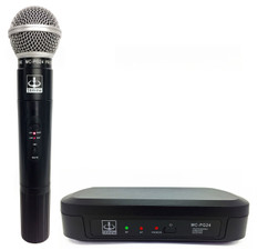 Single Wireless VHF+Plus Microphone System  MC-PG24