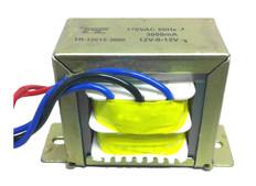 Transformer, 12V, 1000mA, Center Tapped (6V-0V-6V)  TR-606-1000