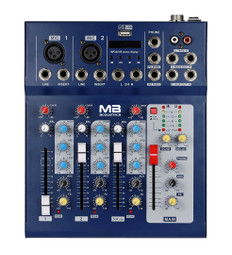 4-Channel Professional Mixer, mp3 Player  MX-4F/USB