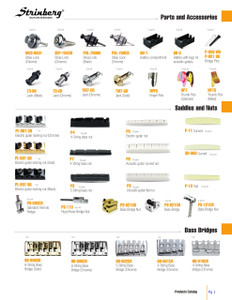 Guitar and Bass Parts  page 1