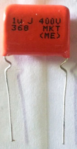Metallized Polyester Capacitor (1uFx400V)  CAP1X400