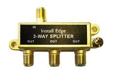 3-Way Gold Splitter  SP-103G