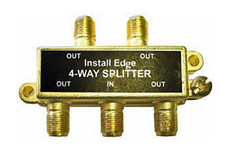 4-Way Gold Splitter  SP-104G